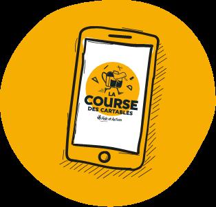 App événement connecté Course des Cartables